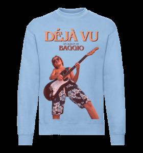 DÉJÁ VU - Sweatshirt - Blue - Unisexe V2