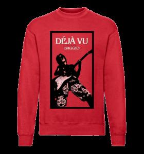 DÉJÀ VU - Sweatshirt - Red - Unisexe