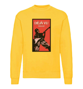 DÉJÀ VU - Sweatshirt - Yellow - Unisexe