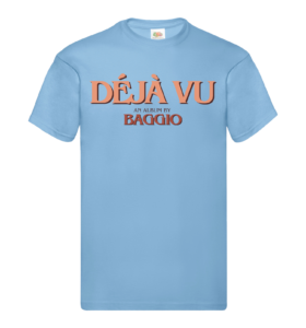 DÉJÁ VU - shirt - Blue - Unisexe V2
